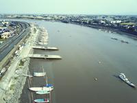 写真 River side view of the Hexagawa River(5112647)