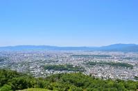 写真 Kyoto city landscape seen from capital mountain(5113106)