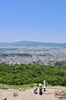 写真 Kyoto city landscape seen from capital mountain(5113150)