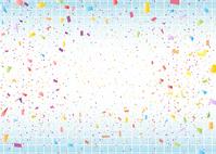 イラスト Confetti Mesh Background(5113261)
