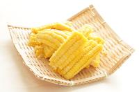 写真 Sweet corn of cut vegetables(5113658)