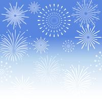 イラスト Fireworks night sky(5114205)