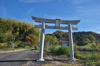 写真 Kamihara-shi Tenjin Shrine Torii(5114408)