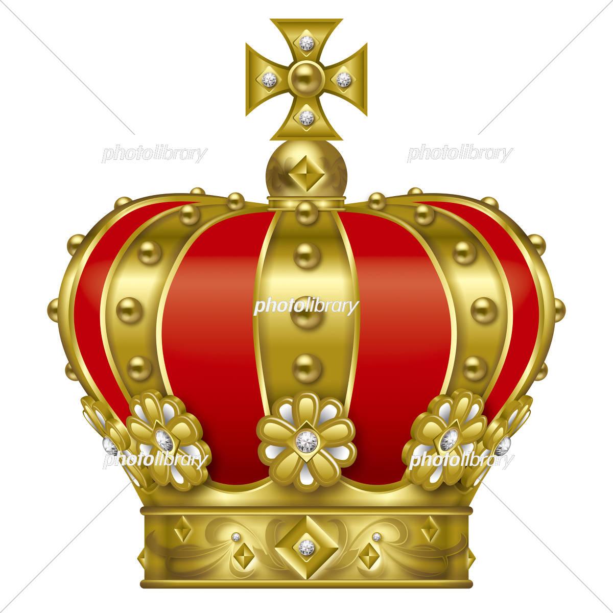 王冠のイラスト ゴールド イラスト素材 5196287 フォトライブ