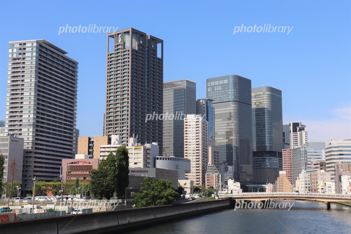 大阪・中之島の高層ビル群 写真素材 [ 5198183 ] - フォトライブラリー ...