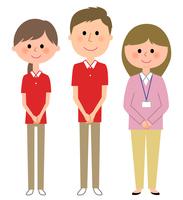 イラスト Nursing care staff Home Perper care manager(5200229)