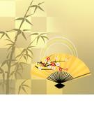 イラスト Japanese New Year's card Japanese pattern Japanese style(5200486)