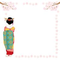 イラスト Kyoto Spring Maiko illustrations(5200535)