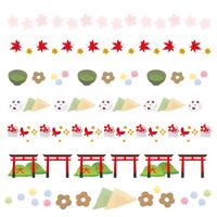 イラスト Kyoto decorative illustration(5200537)