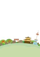 イラスト Kyoto landscape illustration(5200538)