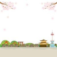 イラスト Kyoto Spring street illustration(5200642)