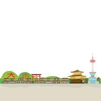 イラスト Kyoto landscape illustration(5200647)