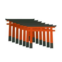 イラスト Kyoto Autumn Kinkakuji illustration(5200658)