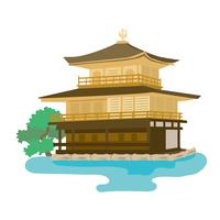 イラスト Kyoto Kinkakuji illustration(5200665)
