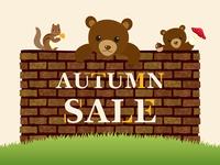 イラスト Autumn sale(5201244)