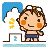 イラスト Foundation Kids Swimming Men's Start(5201851)