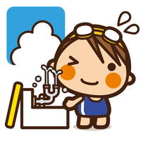 イラスト Waseda Kids swimming girls' eyes(5201863)
