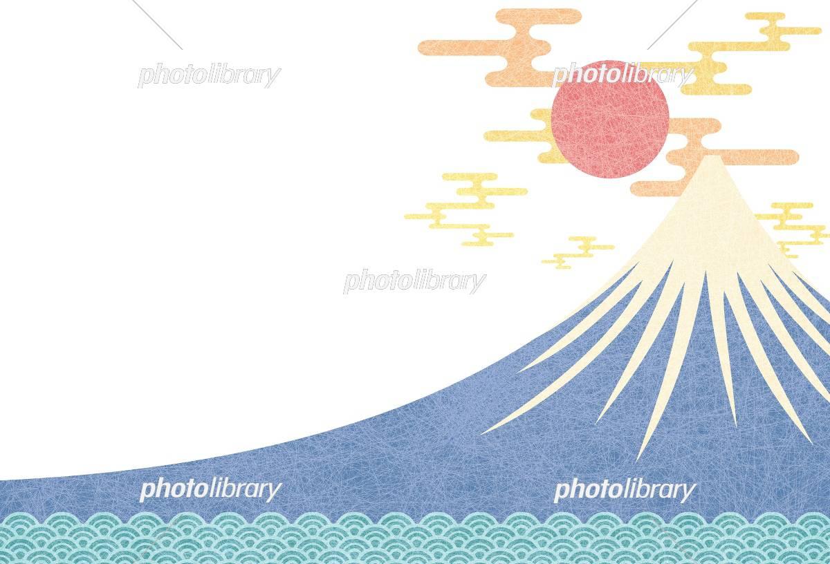 富士山 初日の出 イラスト素材 5291337 フォトライブラリー