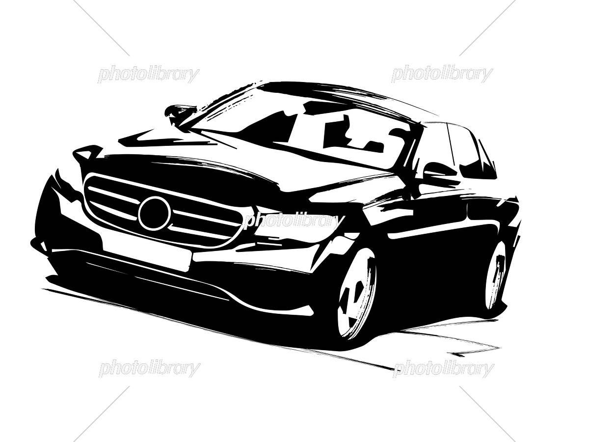 高級車 イラスト素材 [ 5300179 ] - フォトライブラリー photolibrary