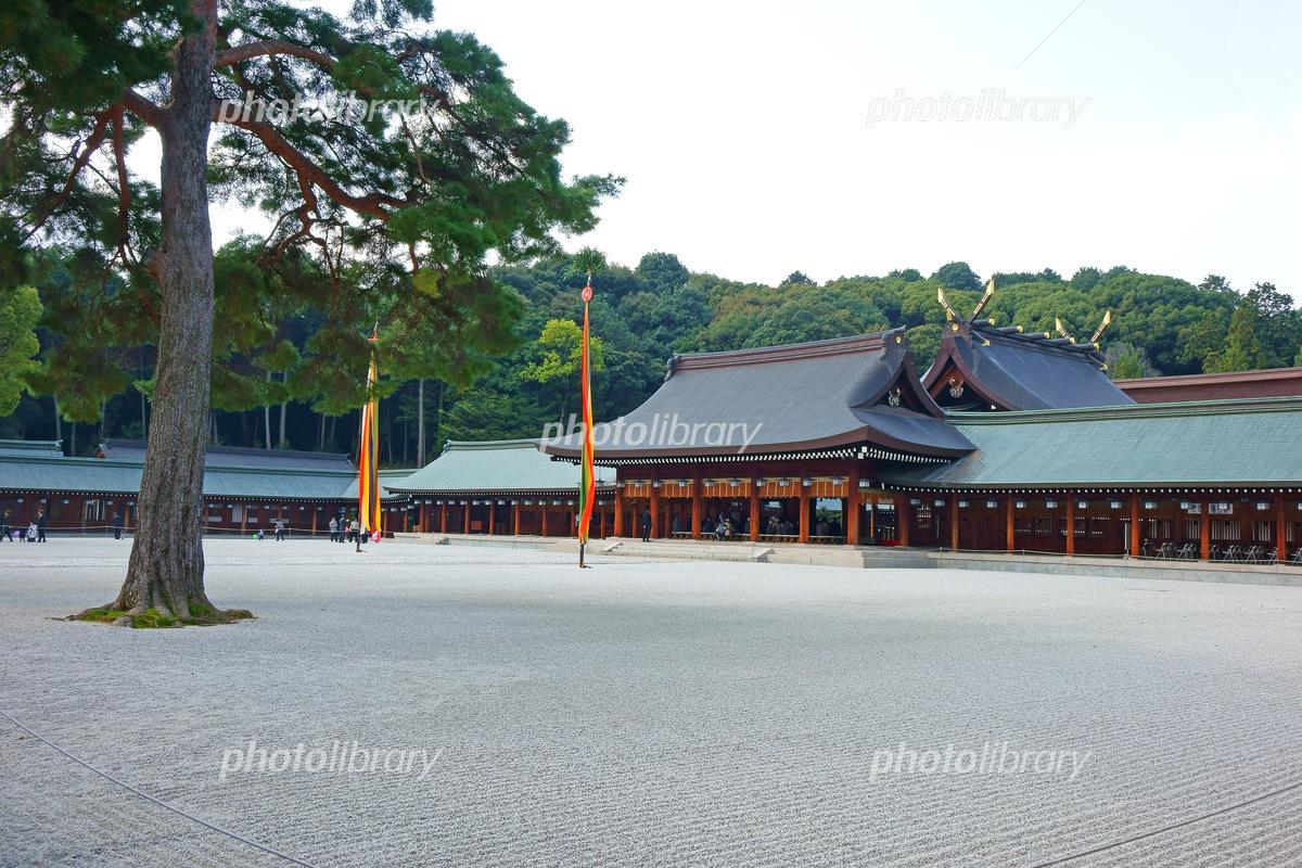 奈良県 橿原神宮 内拝殿 写真素...