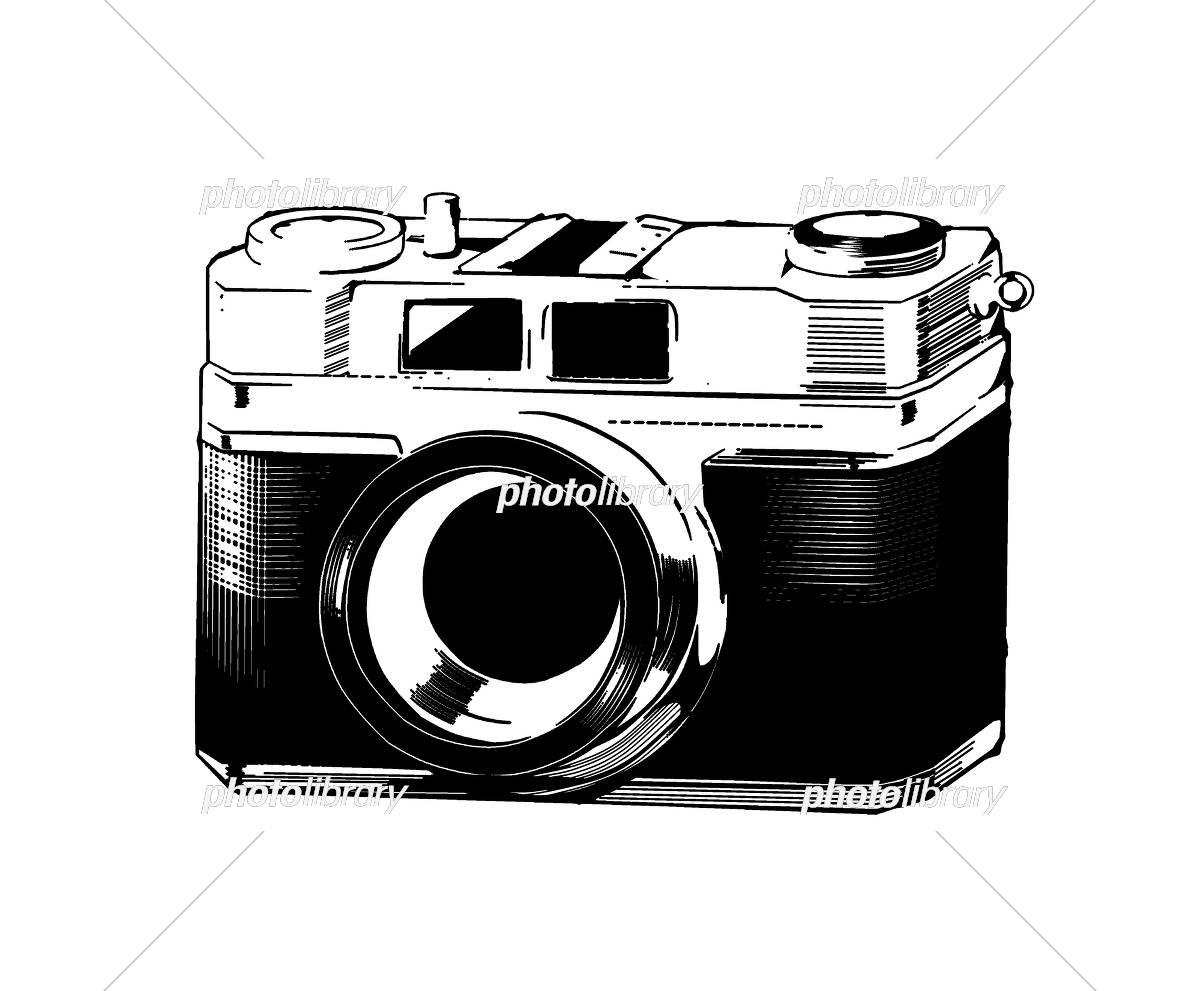 レトロなカメラのイラスト イラスト素材 [ 5385035 ] - フォトライブ