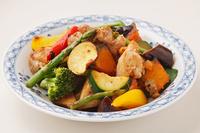 写真 Stir-fried chicken meat(5435823)