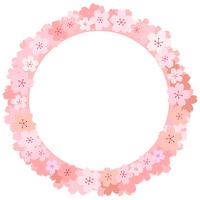 イラスト Cherry frame(5436321)