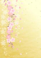 イラスト Dead brown cherry tree(5437188)