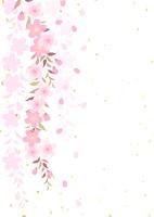 イラスト Dead brown cherry tree(5437191)