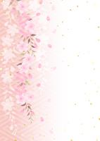 イラスト Dead brown cherry tree(5437208)