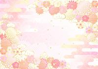 イラスト New Year's flowers Shochiku Meiku Kikura(5437212)