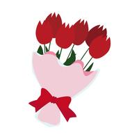 イラスト Tulip bouquet(5437470)