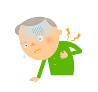 イラスト Senior of heart disease(5438846)