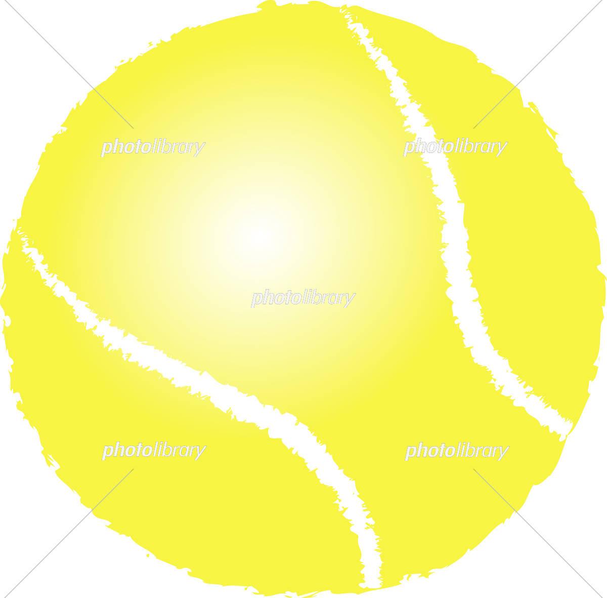 テニスボール 3d イラスト イラスト素材 [ 5469062 ] - フォトライブ