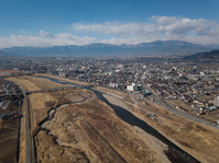 写真 Fuefukigawa and Kofu City(5471305)