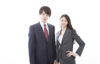 写真 Businessman & business woman(5471453)