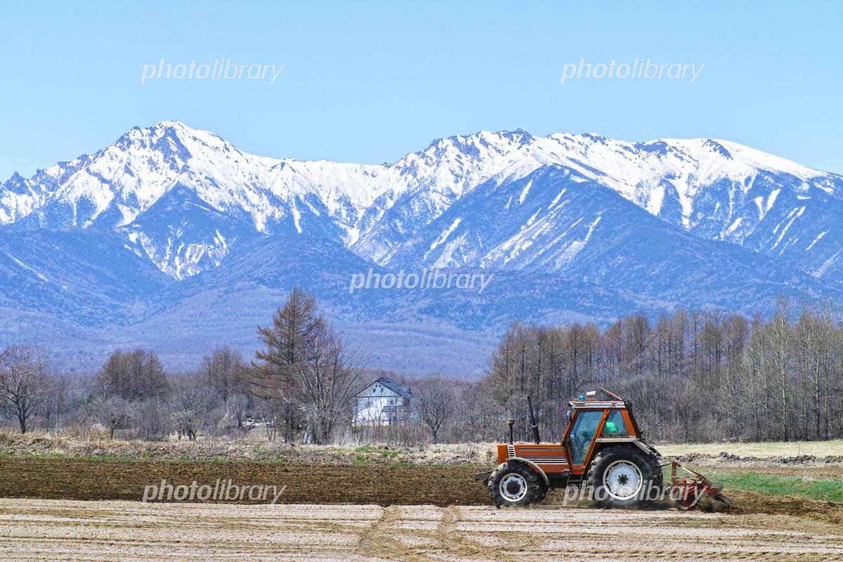 八ヶ岳高原の春 写真素材 5505066 フォトライブラリー Photolibrary