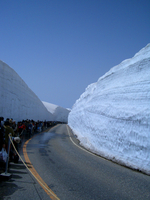 Tateyama Kurobe Alpine Route snow corridor Stock photo [175596] Tateyama