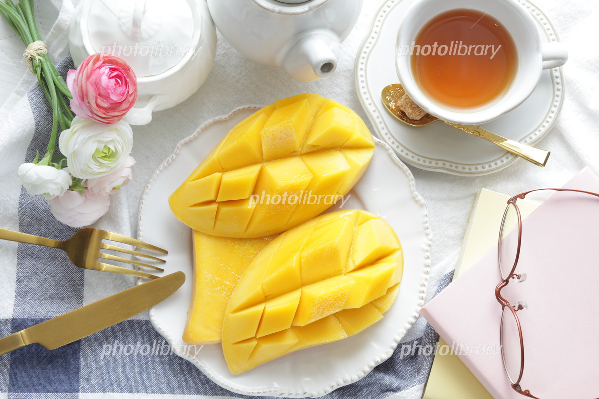 Mango dessert from Thailand Photo