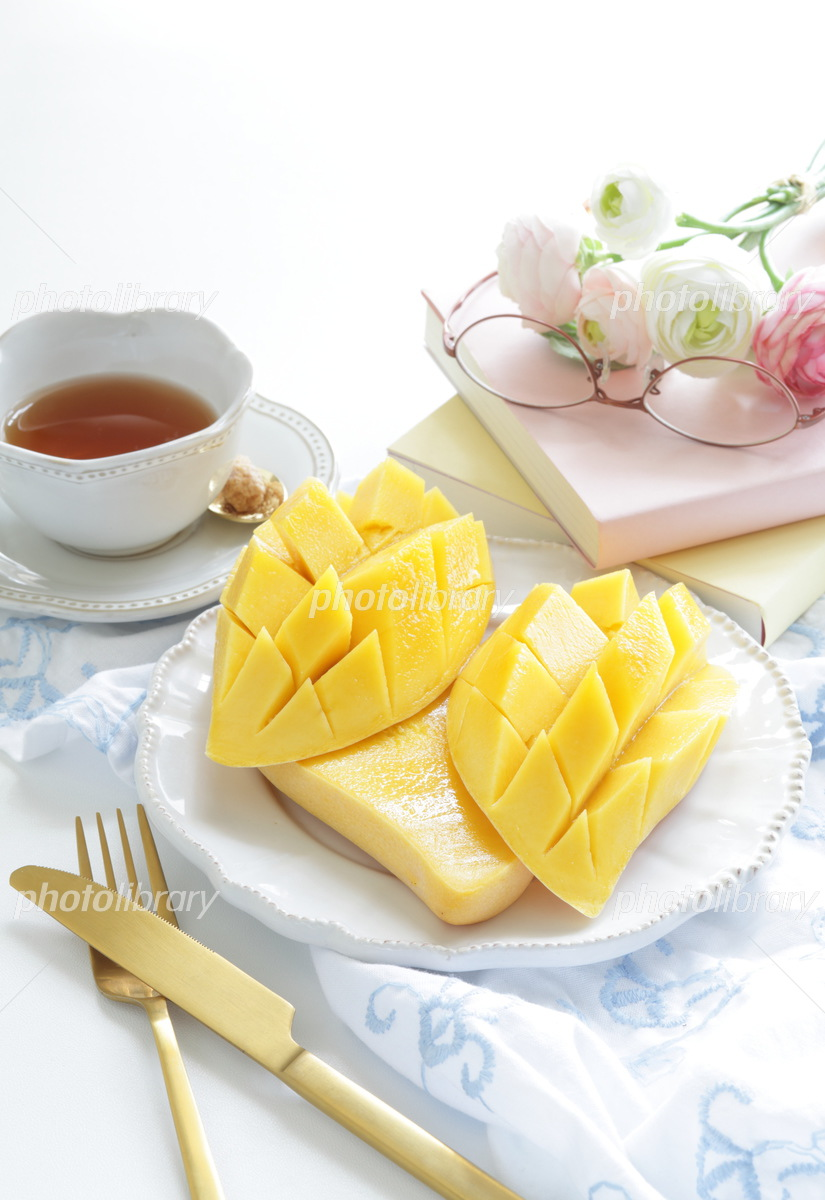 Mango dessert from Thailand Photo