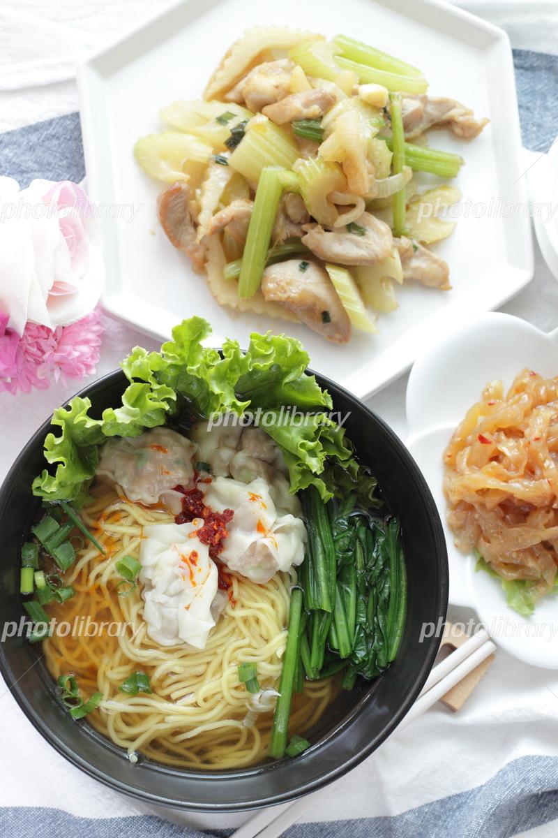 Wan noodle Photo