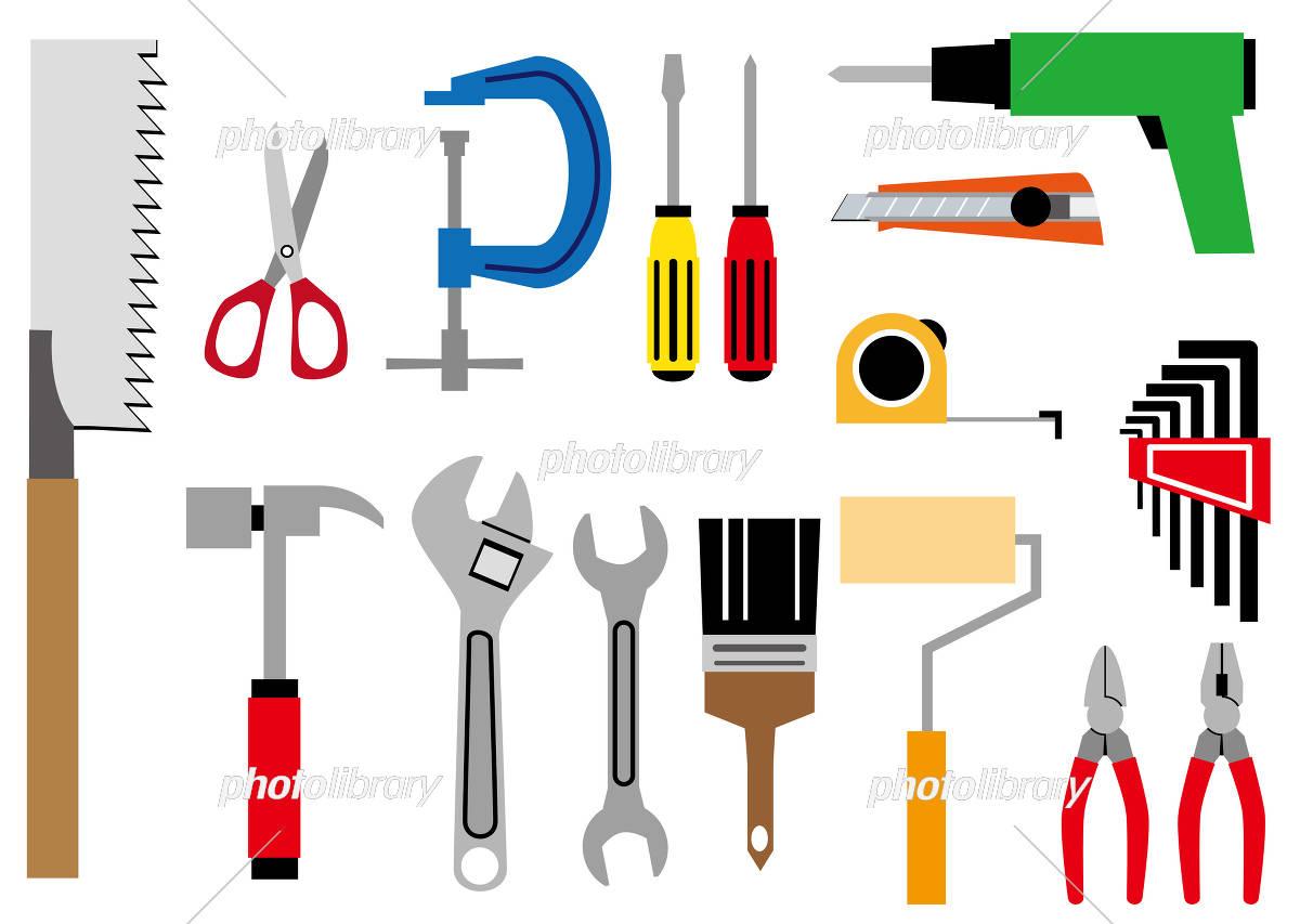 工具道具 イラストセット イラスト素材 5650053 フォトライブ