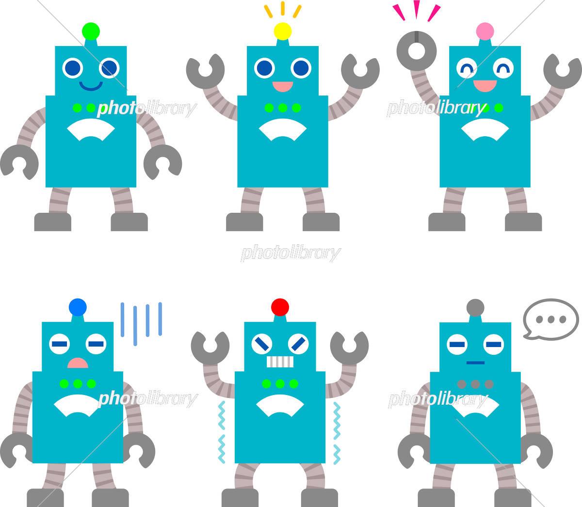 ロボットイラスト イラスト素材 2580840 フォトライブラリー