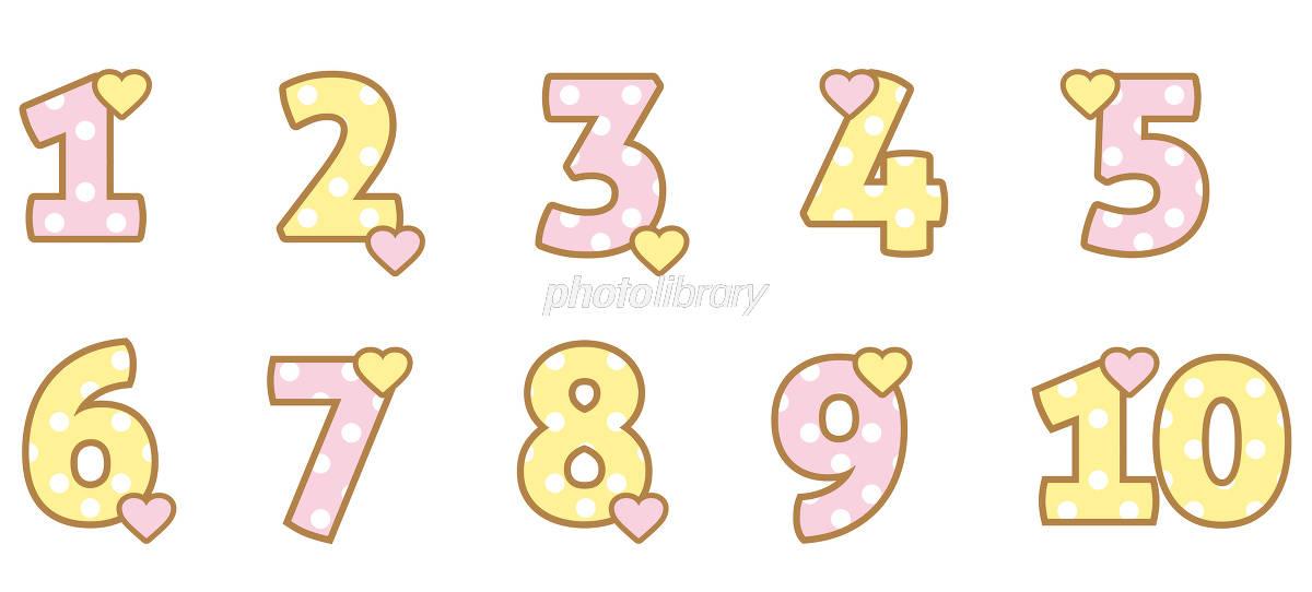 数字 フォント かわいい