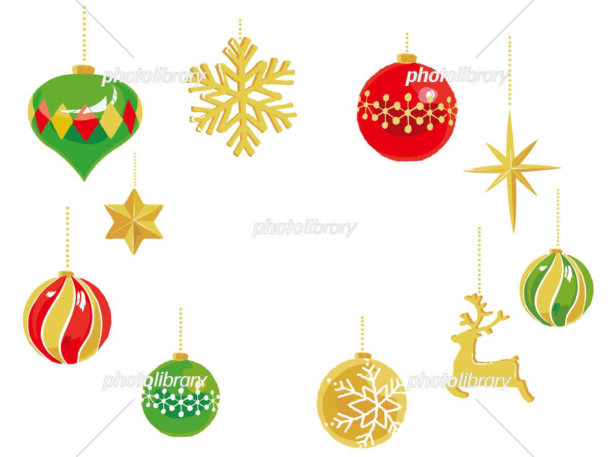 クリスマスオーナメント フレーム イラスト素材 5775861 フォト
