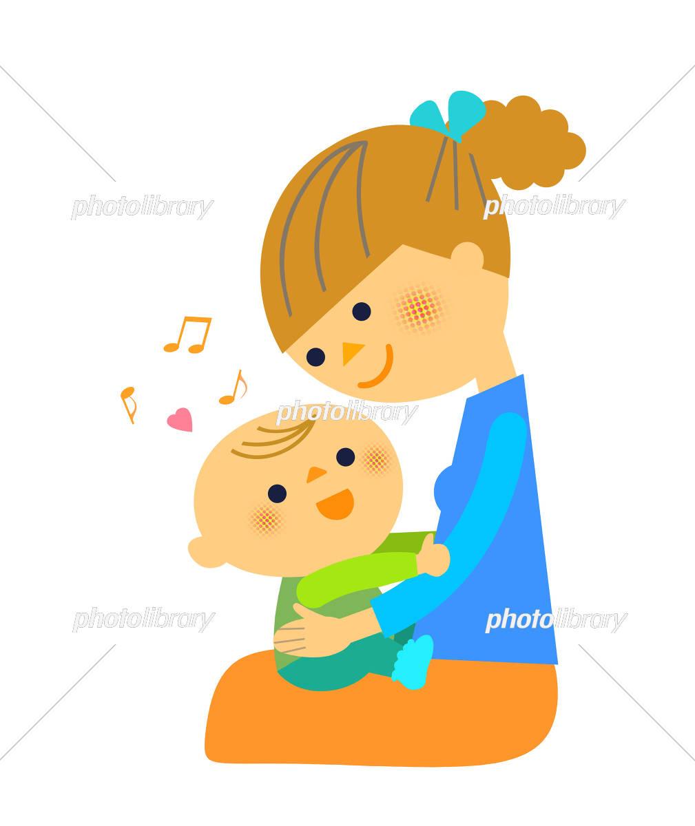 ママと赤ちゃん イラスト素材 5811473 フォトライブラリー