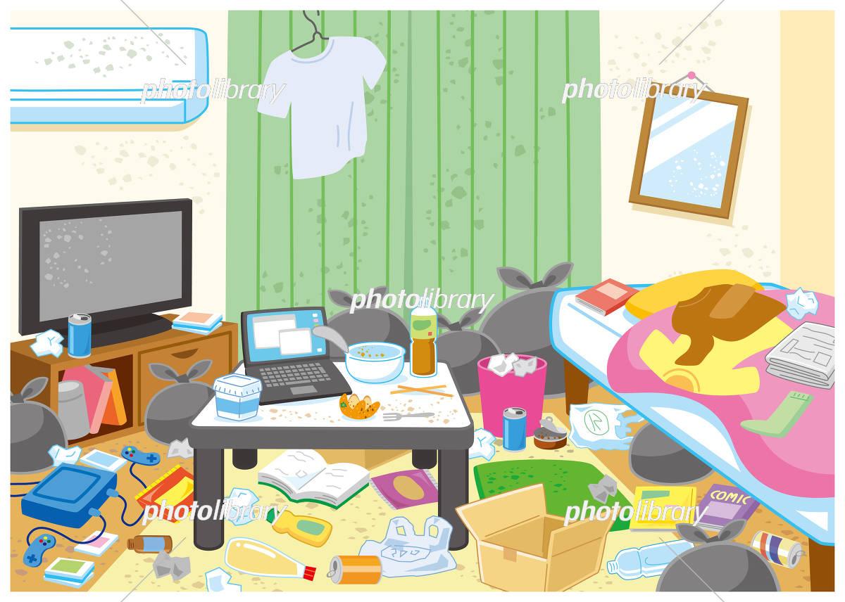 汚れた部屋 イラスト素材 5844266 フォトライブラリー Photolibrary