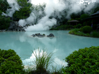 White Pond Hell Hot Springs Stock photo [196240] Kannawa