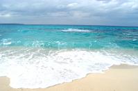 Wave of Miyako Island sand Stock photo [196290] Blue