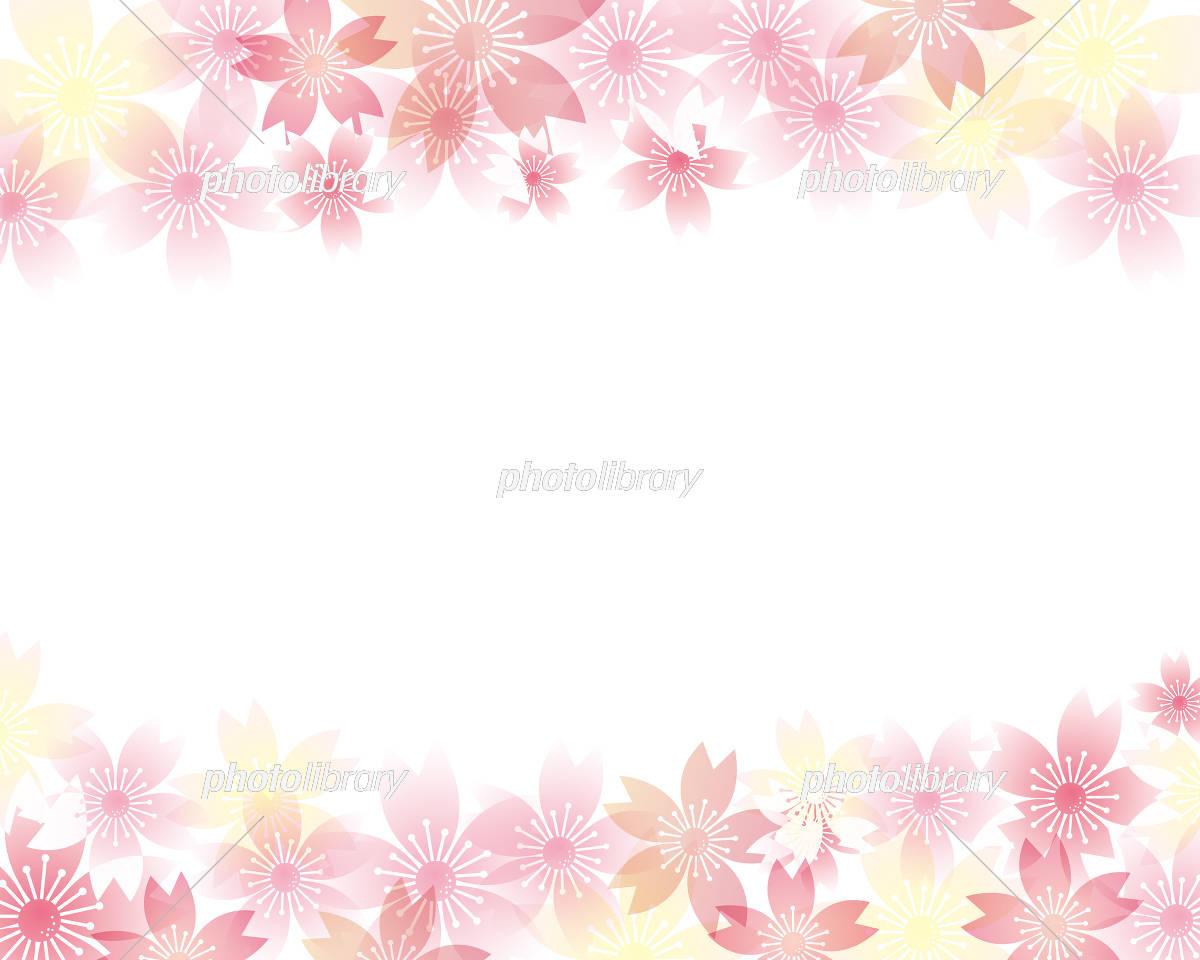 桜 春 背景 イラスト イラスト素材 5866865 フォトライブラリー